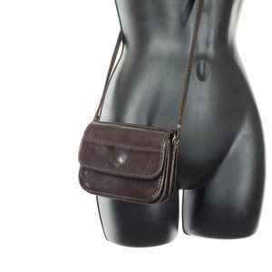THE TREND Mini Leather Crossbody Purse Bag Vintage